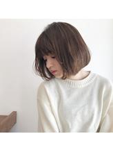 【NEUTRAL DOOR 岩田】カットだけでまとまるボブ☆.25