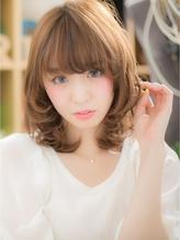 *+COVER HAIR+*…くびれカールで♪妹系☆甘え顔ミディa くびれカール.13