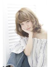 【QONtROL yakumo】透明感のある艶感アッシュミディ 落ち着き.58