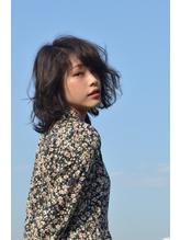【春 就活オススメカラー】ひし形ふんわりミディ.11