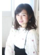 【ffhair】ゆるふわ☆春パーマ耳かけスタイル.6