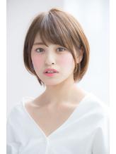 新垣結衣風厚めバング小顔フェアリーショート【國武さゆり】 .56