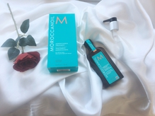#モロッカンオイル髪に馴染みやすく、高保湿でダメージケア☆