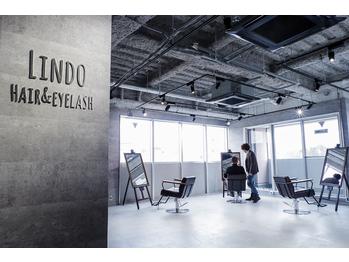 リンドヘアー アンド アイラッシュ(LINDO)(東京都多摩市/美容室)