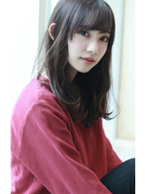 【Blanc】フォギーベージュ×エアリーフォルム.25
