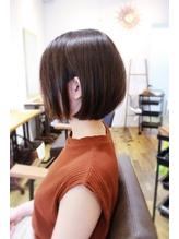 【TIQUE野口☆】ナチュラルショートボブ/前髪なし.5