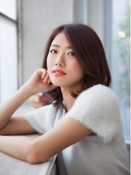綺麗女子のミディアムボブ☆