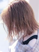 【D&T hair高杉大輔】ショコラピンク 濡れ感 切りっぱなし ボブ.13