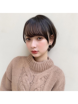 【GARDEN harajuku】羽田ひろむ 大人愛され黒髪ショートボブ