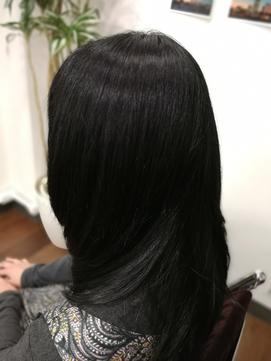 クセ毛多毛の方にオススメ。ツヤ髪リッチロングスタイル