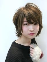 【STILL unlabel】愛され小顔☆グレージュショートスタイル .47