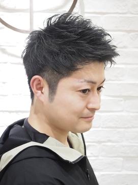 【ヨシザワ横浜】リバースパーマアッパーショート