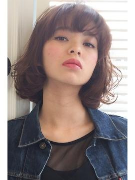 【lamp hair 】ピンクベージュ×アンティークボブ♪No.4