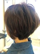 【大人気★ひと目惚れボブ】 ボサボサ.57