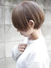 【+~ing】シアベージュ丸みショート【小川晏奈】.33