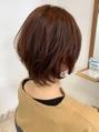 LCEAの認証を取得したオーガニックカラーを使用。定期的に繰り返すカラーだからこそダメージは最小限に…☆オーガニックで心地よく、髪に優しい色とツヤを与え、オシャレが楽しくなる髪色を叶えてくれます♪