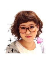 キュート、春パーマでメガネアレンジ〈札幌/大通〉 メガネ.23