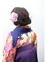卒業式ヘアセット袴着付《capu/町田》 .58