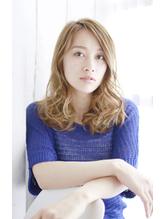 【Lucy高田馬場】 透け感ヴェールウェーブベージュ.21