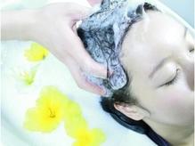 ヘッドスパで頭皮を綺麗に癒されませんか?
