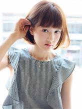 【CARE】透明感のある可愛い☆エアリーショートボブ .48