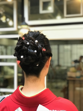 【Noci】ヘアセット×着付けセット