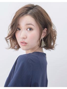 【 Bonheur西梅田店 】スウィングカールボブ/Stylist玉井友香