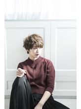 【miel hair新宿】大人可愛い♪スポンテニアスショートボブ .18
