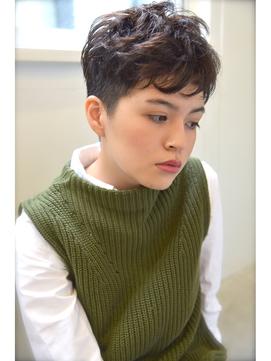 【Lepes】ハンサム黒髪ベリーショート