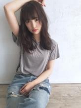 ☆blues☆ナチュラルスタイル/うぶバング/暗髪 アンニュイ.49