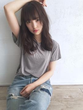 ☆blues☆ナチュラルスタイル/うぶバング/暗髪