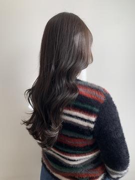 イメチェン韓国式小顔カット、ココアブラウン**