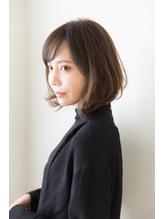 【aRietta馬場義隆】斜め前髪☆大人ボブ.34