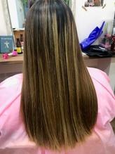 ストレートヘアでサラサラ感をアップ!!.1