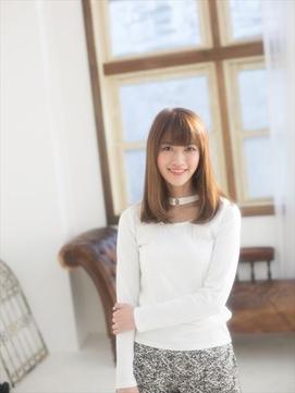 モテ髪☆ストレートミディ