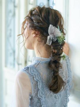 ヘアセット/セット/結婚式