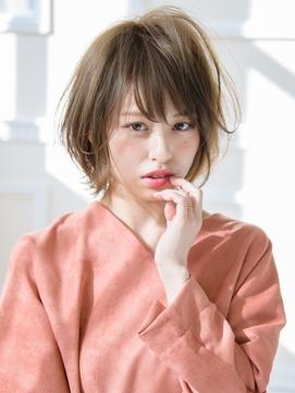 《Barretta/蒲田634》☆切りっぱなし×大人ショート☆
