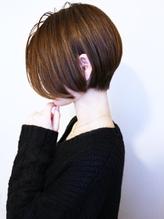 【morio池袋】黒髪大人可愛い小顔ショートボブ .48