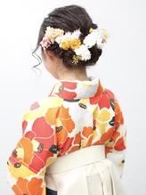 卒業式ヘアセット袴着付《capu/町田》 .56