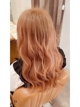 #暖色 #赤髪 #春カラー
