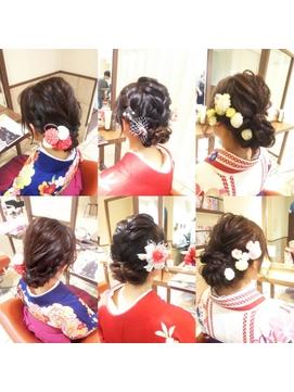 [neolive cino] 卒業式まとめ髪ヘアセット☆
