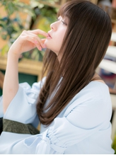 *bliss浦和*小顔マジック★黒髪ストレートレイヤーa .3