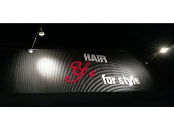 ヘアーワイズフォースタイル(HAIR Y's for style)(山形県東根市/美容室)