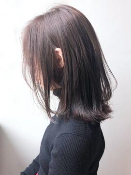ピンクアッシュ_くびれミディイヤリングカラー_ba261581