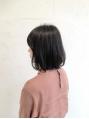 【Amber】 安藤望  髪の艶効果が出る暗髪アッシュブラウン