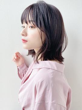 [K-two青山]大人かわいい小顔ヘア/黒髪[表参道/青山]