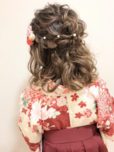 卒業式 袴 成人式 振袖 ルーズ ヘアアレンジ ウェディング.40