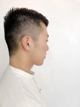クセ毛は刈り上げ&ジェルが清潔感#マジで楽#2mm#9mm