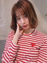 【keen×高橋】 mocha brown×シースルーバング.24