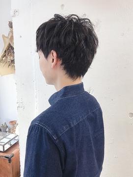 【RICCA サイトウ】妻夫木聡さん風ナチュラルショートパーマ